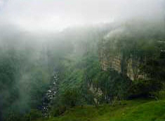 Tequendama Falls Canyon with Mist ('03)