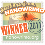 My NaNoWriMo Badge for 2011
