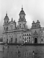 Colombia's national Cathedral in the rain ('93)